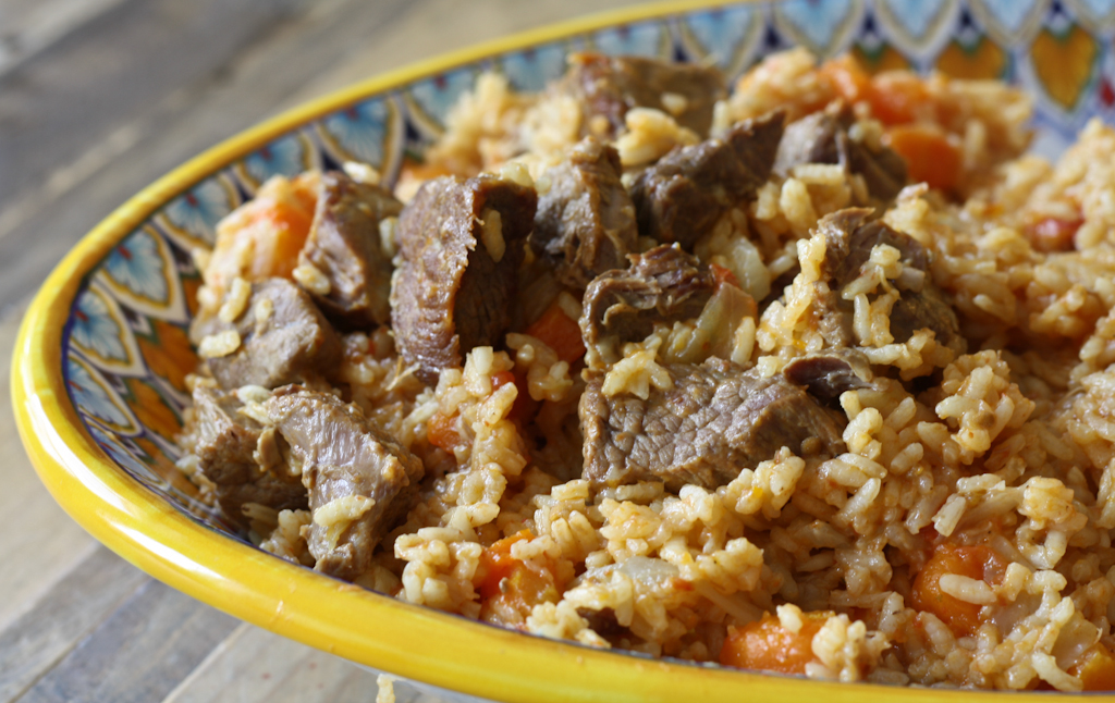 fat rice with beef carrots recipe fat rice with beef fat rice one pot ...